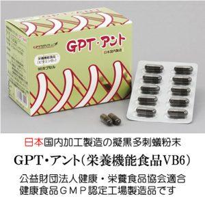 日本国内製造の擬黒多刺蟻粉末99.2%「GPT・アント」
